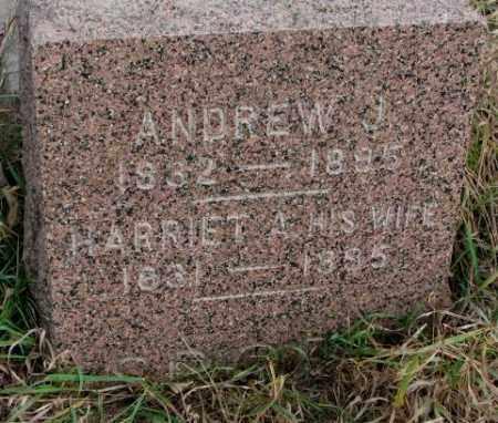 SPORE, ANDREW J. - Clay County, South Dakota | ANDREW J. SPORE - South Dakota Gravestone Photos