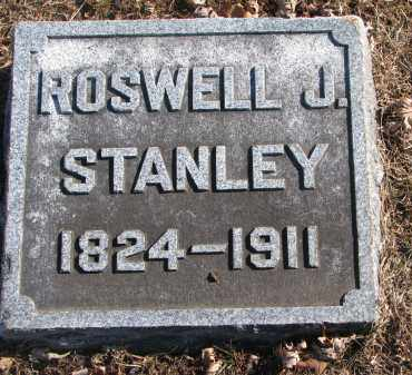 STANLEY, ROSWELL J. - Clay County, South Dakota | ROSWELL J. STANLEY - South Dakota Gravestone Photos