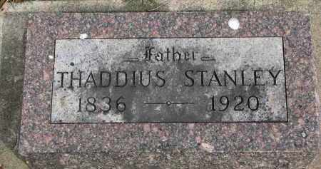 STANLEY, THADDIUS - Clay County, South Dakota | THADDIUS STANLEY - South Dakota Gravestone Photos