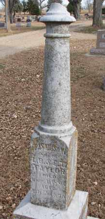 TAYLOR, ERASMUS W. - Clay County, South Dakota   ERASMUS W. TAYLOR - South Dakota Gravestone Photos