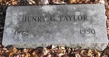 TAYLOR, HENRY G. - Clay County, South Dakota   HENRY G. TAYLOR - South Dakota Gravestone Photos