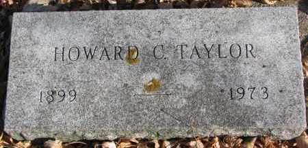 TAYLOR, HOWARD C. - Clay County, South Dakota | HOWARD C. TAYLOR - South Dakota Gravestone Photos