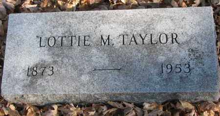 TAYLOR, LOTTIE M. - Clay County, South Dakota | LOTTIE M. TAYLOR - South Dakota Gravestone Photos