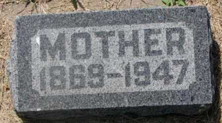 THORSON, MOTHER - Clay County, South Dakota   MOTHER THORSON - South Dakota Gravestone Photos