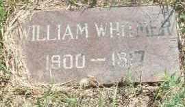 WHITMER, WILLIAM - Clay County, South Dakota | WILLIAM WHITMER - South Dakota Gravestone Photos