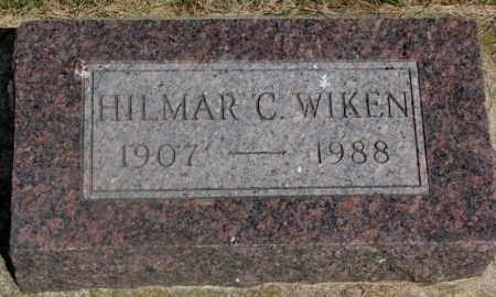 WIKEN, HILMAR C. - Clay County, South Dakota | HILMAR C. WIKEN - South Dakota Gravestone Photos