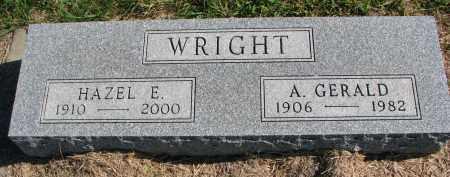 WRIGHT, HAZEL E. - Clay County, South Dakota   HAZEL E. WRIGHT - South Dakota Gravestone Photos