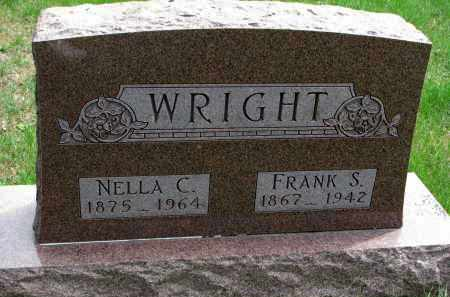 WRIGHT, NELLA C. - Clay County, South Dakota | NELLA C. WRIGHT - South Dakota Gravestone Photos