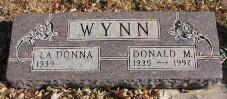 WYNN, DONALD M. - Clay County, South Dakota | DONALD M. WYNN - South Dakota Gravestone Photos