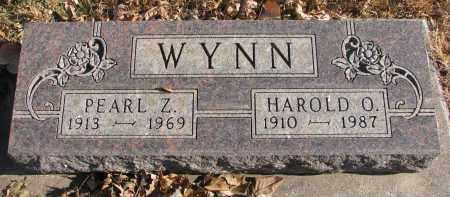 WYNN, PEARL Z. - Clay County, South Dakota | PEARL Z. WYNN - South Dakota Gravestone Photos
