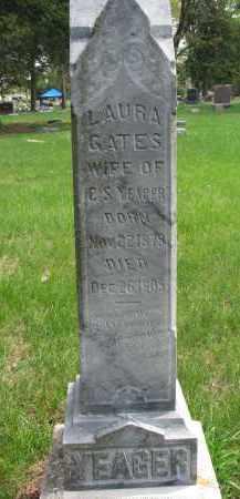 YEAGER, LAURA - Clay County, South Dakota   LAURA YEAGER - South Dakota Gravestone Photos