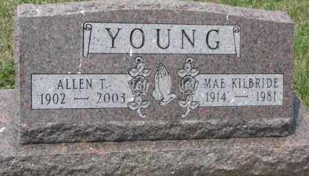 YOUNG, ALLEN T. - Clay County, South Dakota | ALLEN T. YOUNG - South Dakota Gravestone Photos