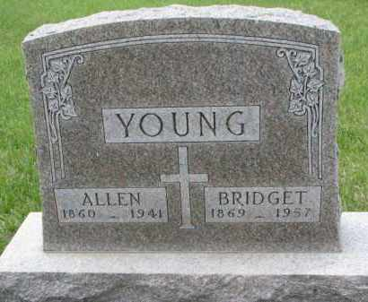 YOUNG, ALLEN - Clay County, South Dakota | ALLEN YOUNG - South Dakota Gravestone Photos