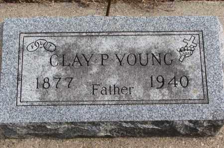 YOUNG, CLAY P. - Clay County, South Dakota | CLAY P. YOUNG - South Dakota Gravestone Photos