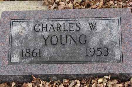 YOUNG, CHARLES W. - Clay County, South Dakota | CHARLES W. YOUNG - South Dakota Gravestone Photos