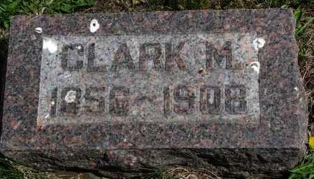 YOUNG, CLARK M. - Clay County, South Dakota | CLARK M. YOUNG - South Dakota Gravestone Photos