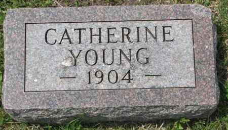 YOUNG, CATHERINE - Clay County, South Dakota | CATHERINE YOUNG - South Dakota Gravestone Photos