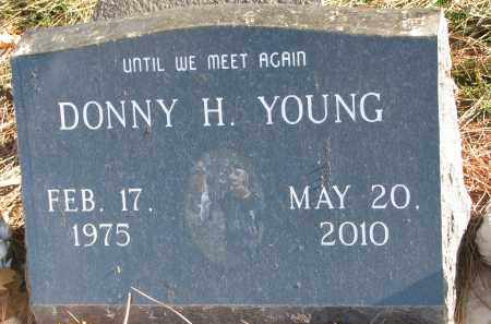 YOUNG, DONNY H. - Clay County, South Dakota | DONNY H. YOUNG - South Dakota Gravestone Photos