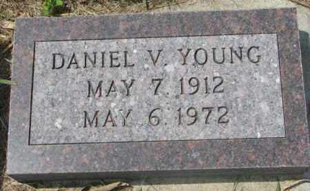 YOUNG, DANIEL V. - Clay County, South Dakota | DANIEL V. YOUNG - South Dakota Gravestone Photos