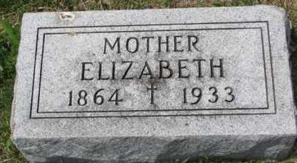 YOUNG, ELIZABETH - Clay County, South Dakota | ELIZABETH YOUNG - South Dakota Gravestone Photos