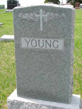 YOUNG, FAMILY STONE - Clay County, South Dakota | FAMILY STONE YOUNG - South Dakota Gravestone Photos