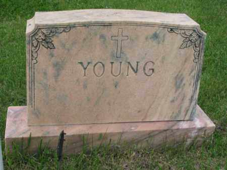 YOUNG, FAMILY STONE - Clay County, South Dakota | FAMILY STONE YOUNG - South Dakota Gravestone Photos
