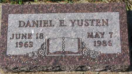YUSTEN, DANIEL E. - Clay County, South Dakota | DANIEL E. YUSTEN - South Dakota Gravestone Photos
