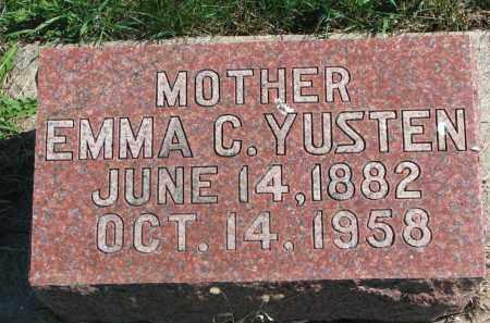 YUSTEN, EMMA C. - Clay County, South Dakota | EMMA C. YUSTEN - South Dakota Gravestone Photos