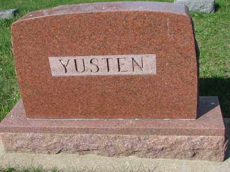 YUSTEN, FAMILY STONE - Clay County, South Dakota | FAMILY STONE YUSTEN - South Dakota Gravestone Photos