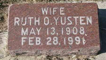 YUSTEN, RUTH O. - Clay County, South Dakota | RUTH O. YUSTEN - South Dakota Gravestone Photos