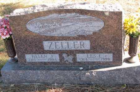 ZELLER, HELEN I. - Clay County, South Dakota | HELEN I. ZELLER - South Dakota Gravestone Photos