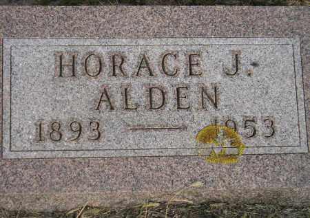 ALDEN, HORACE J. - Codington County, South Dakota | HORACE J. ALDEN - South Dakota Gravestone Photos