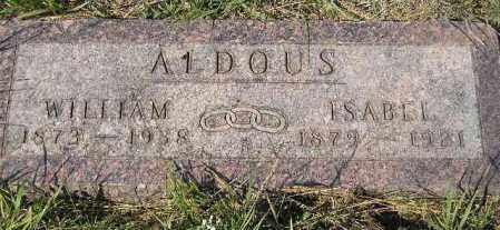 ALDOUS, WILLIAM - Codington County, South Dakota | WILLIAM ALDOUS - South Dakota Gravestone Photos