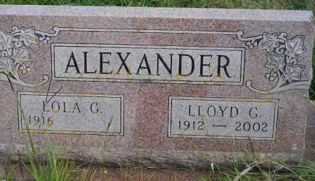 ZUGSCHWERDT ALEXANDER, LOLA G. - Codington County, South Dakota | LOLA G. ZUGSCHWERDT ALEXANDER - South Dakota Gravestone Photos