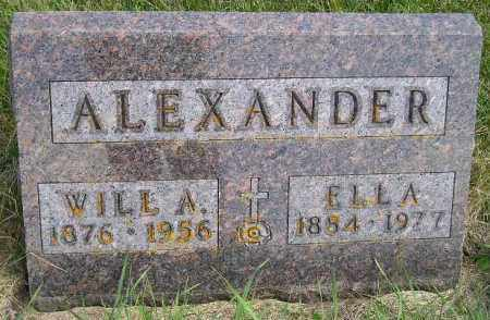 STEVENS ALEXANDER, ELLA - Codington County, South Dakota | ELLA STEVENS ALEXANDER - South Dakota Gravestone Photos