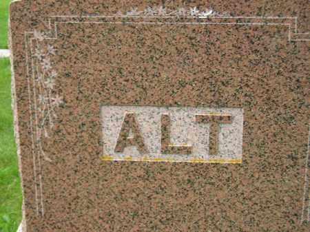 ALT, FAMILY STONE - Codington County, South Dakota | FAMILY STONE ALT - South Dakota Gravestone Photos