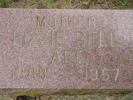 POTTER ALT, LIZZIE BELL - Codington County, South Dakota | LIZZIE BELL POTTER ALT - South Dakota Gravestone Photos