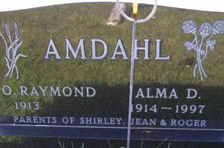 AMDAHL, ALMA DEHLIA - Codington County, South Dakota | ALMA DEHLIA AMDAHL - South Dakota Gravestone Photos
