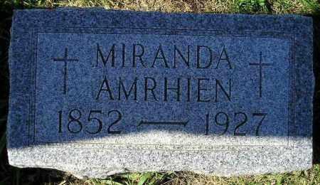 AMRHIEN, MIRANDA - Codington County, South Dakota | MIRANDA AMRHIEN - South Dakota Gravestone Photos