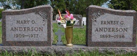 ANDERSON, MARY O. - Codington County, South Dakota | MARY O. ANDERSON - South Dakota Gravestone Photos