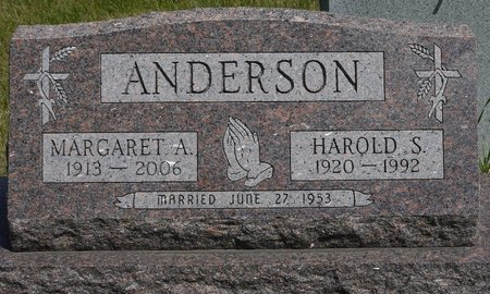 ANDERSON, MARGARET A. - Codington County, South Dakota | MARGARET A. ANDERSON - South Dakota Gravestone Photos