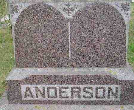 STORKSON ANDERSON, JULIA S. - Codington County, South Dakota | JULIA S. STORKSON ANDERSON - South Dakota Gravestone Photos