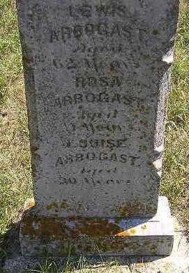 ARBOGAST, LEWIS - Codington County, South Dakota | LEWIS ARBOGAST - South Dakota Gravestone Photos