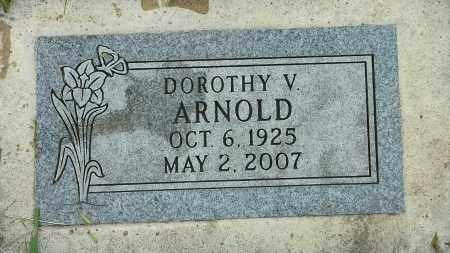 ARNOLD, DORTHY V - Codington County, South Dakota | DORTHY V ARNOLD - South Dakota Gravestone Photos