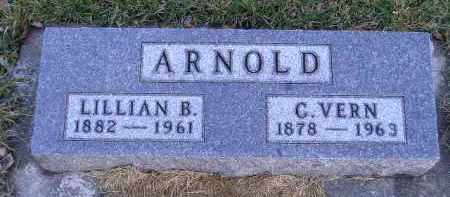 ARNOLD, C. VERN - Codington County, South Dakota | C. VERN ARNOLD - South Dakota Gravestone Photos