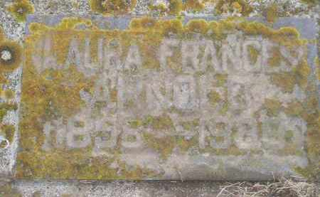 ARNOLD, LAURA FRANCES - Codington County, South Dakota   LAURA FRANCES ARNOLD - South Dakota Gravestone Photos