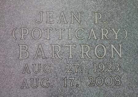 BARTRON, JEAN P. - Codington County, South Dakota | JEAN P. BARTRON - South Dakota Gravestone Photos
