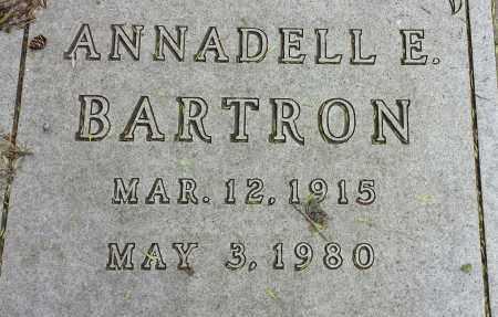 BARTRON, ANNADELL E - Codington County, South Dakota | ANNADELL E BARTRON - South Dakota Gravestone Photos