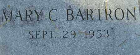 BARTRON, MARY C - Codington County, South Dakota   MARY C BARTRON - South Dakota Gravestone Photos
