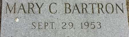 BARTRON, MARY C - Codington County, South Dakota | MARY C BARTRON - South Dakota Gravestone Photos